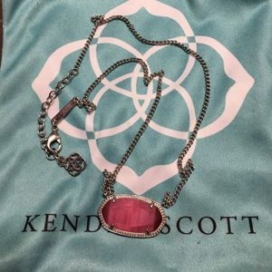 Kendra Scott Dylan necklace in rare HTF color